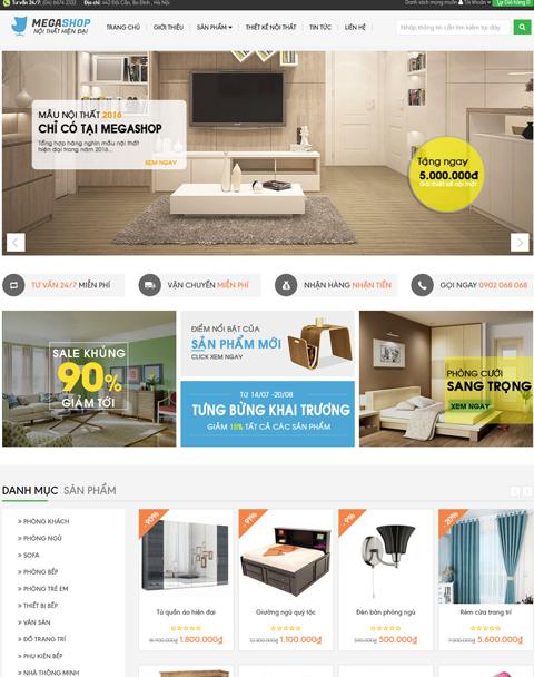 Thiết kế webiste bán hàng